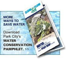 Water conservation pamphlet