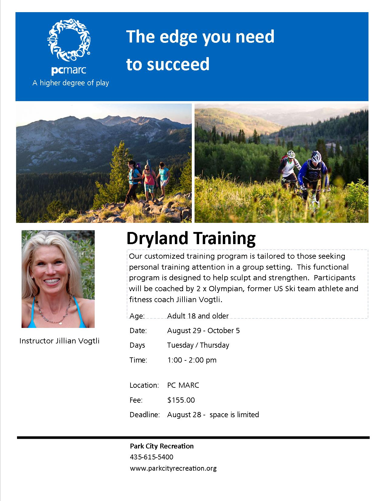 Dryland training 17 spring
