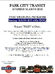 Transit Employment flyer