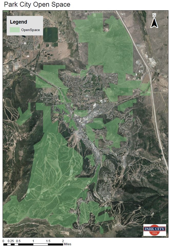 Park City Open Space Map