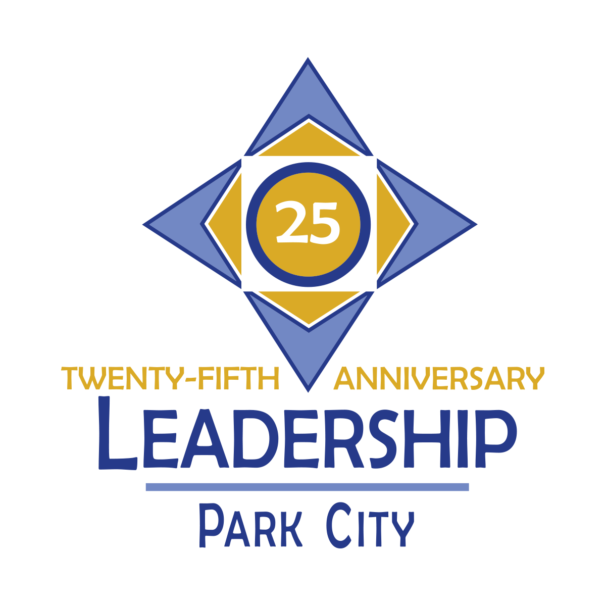 Park City Leadership 25th Anniversary Logo