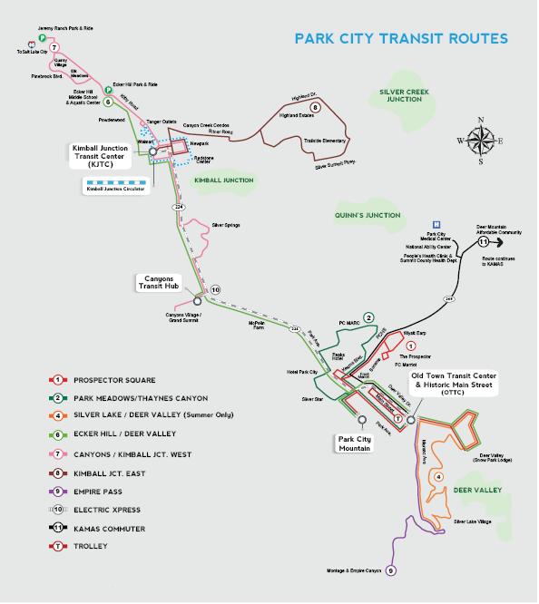 Routes Schedules Park City Ut