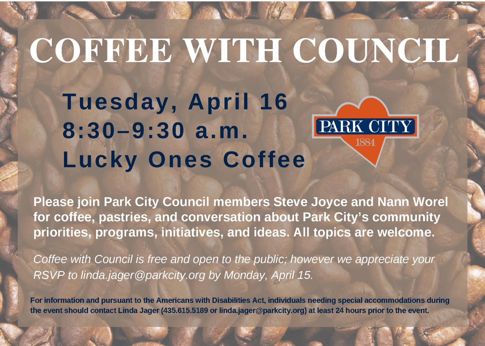 COFFEE WITH COUNCIL_4.16.19
