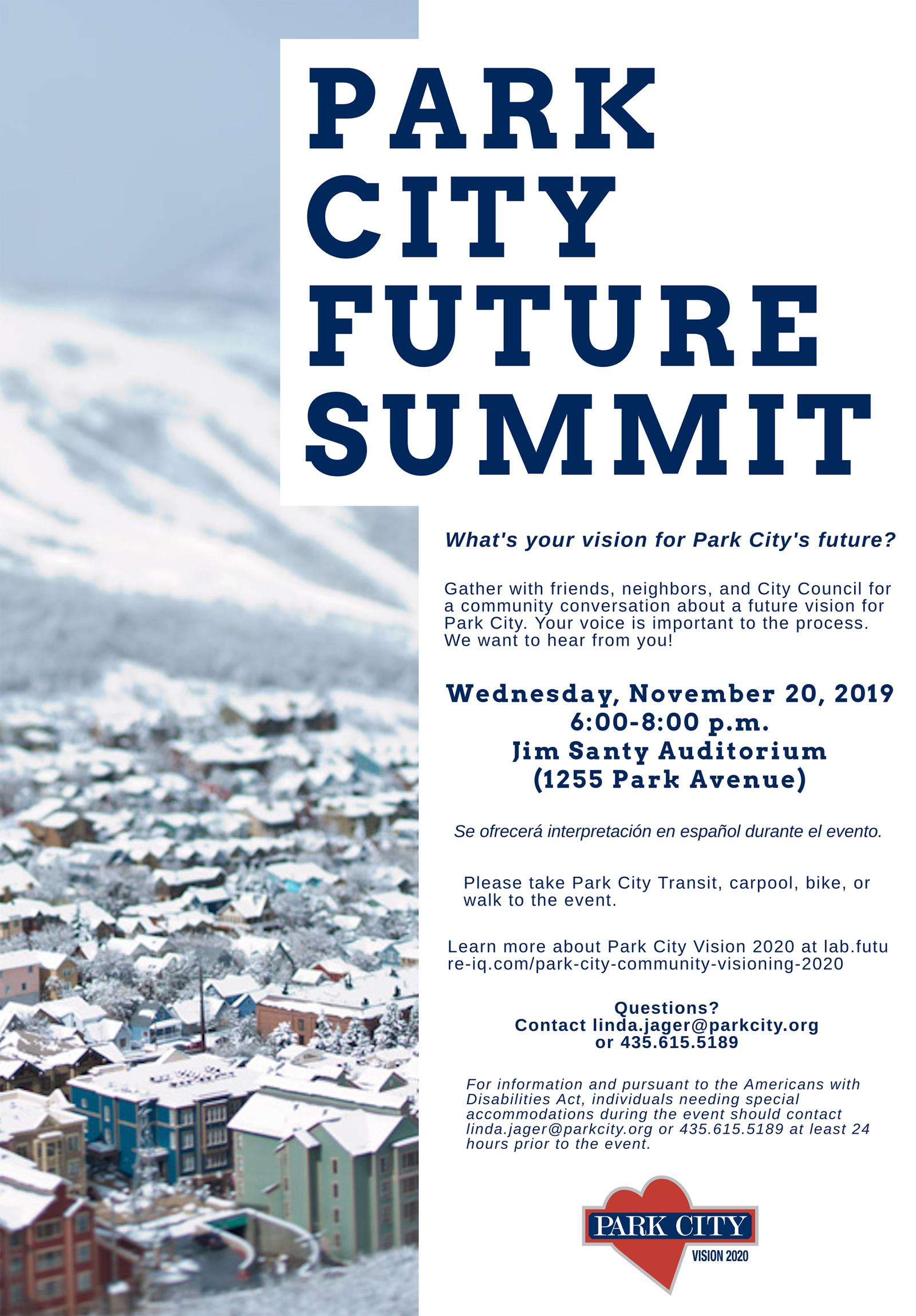 Park City Future Summit 2019